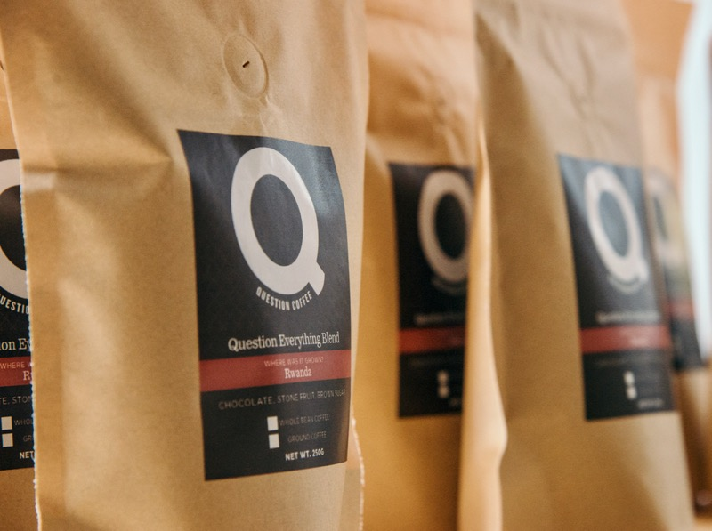Question Coffee Bag